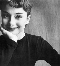 Gimme my money. Here's Audrey Hepburn. The definition of early 60's cool.