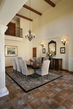 85 best dining rooms images on pinterest bed and breakfast dining room and lunch room. Black Bedroom Furniture Sets. Home Design Ideas