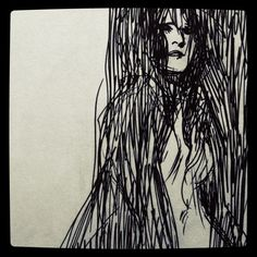 doodle by Becky Cloonan