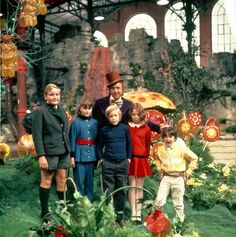 Original Willy Wonka Movie made in the 1970s--much better than the modern one---love this one