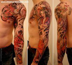 tattoo black and red - Recherche Google