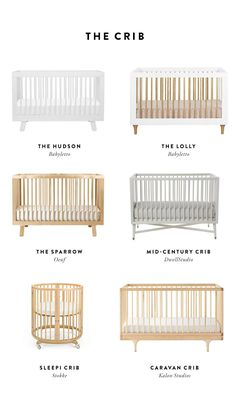 Creating a Smart Baby Registry - Cribs | The Fresh Exchange