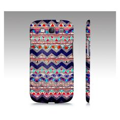 TRIBAL MIND Samsung Galaxy S3 Cover ($41) ❤ liked on Polyvore
