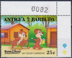 Antigua & Barbuda stamp. Disney Characters