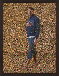Kehinde Wiley - Napoleon In His Study - Galerie Daniel Templon African American Artist, American Artists, Kehinde Wiley, Wow Art, Black Artists, Human Art, Portrait Art, Portraits, Renaissance Art