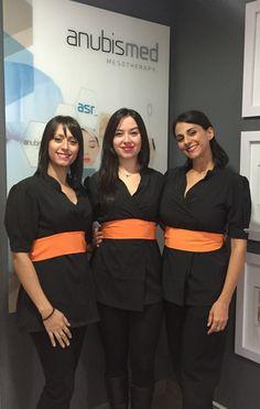 Nuestro fantástico equipo técnico: de izquierda a derecha: Laura Garrucho, María Río y Cristina Sánchez. // Our fantástic techincal team: from left to right: Laura Garrucho, María Río and Cristina Sánchez.