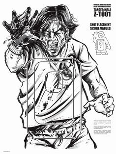 Zombie Targets - By T-Shirt Bordello