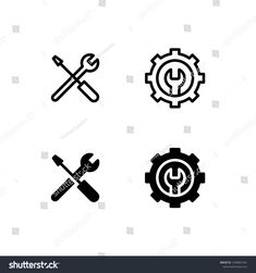 Find Maintenance Icon Logo Vector Symbol Repair stock images in HD and millions of other royalty-free stock photos, illustrations and vectors in the Shutterstock collection. Logo Design Inspiration, Icon Design, Engineering Symbols, Maintenance Logo, Artist Business Cards, Service Logo, Minimal Logo, Symbol Logo, Go Shopping