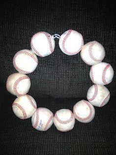 Faith, Grace & Giggles: Baseball Wreath