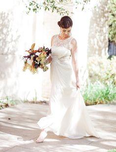 Tadashi Shoji Wedding Dress Designer Wedding Gowns, Wedding Dress Styles, Dream Wedding Dresses, Princess Ball Gowns, A Line Gown, Boho Bride, Tadashi Shoji, Vintage Dresses, One Shoulder Wedding Dress