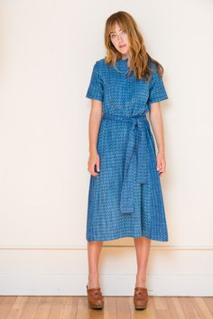 Ace & Jig Margaret Dress in Echo