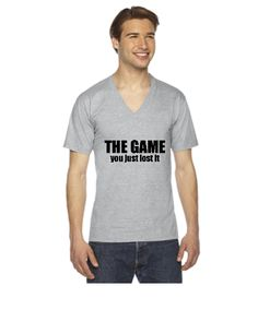 You just lost the game - V-Neck T-shirt