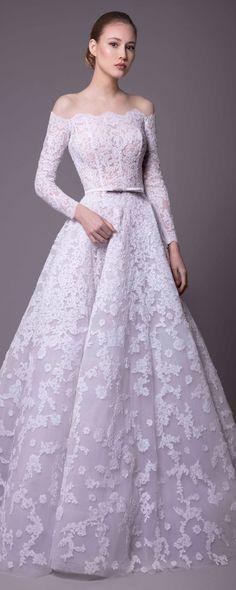 Rani Zakhem Spring-summer 2018 - Bridal - http://www.orientpalms.com/Rani-Zakhem-7066