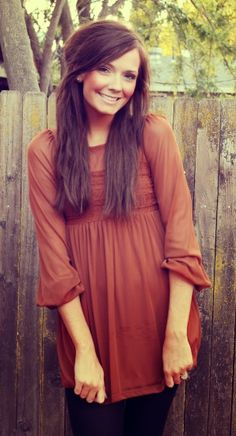 Adorable cute maroon blouse for fall