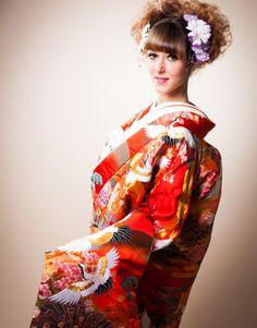 TOKYO JAPAN UROUCHIKAKE Wedding Memorial, Tokyo Japan, Kimono, Sari, Memories, Studio, Photos, Fashion, Saree