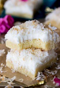 coconut cream bars