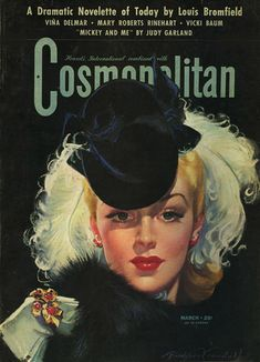 Cosmopolitan Magazine - 1942 Judy Garland - Cosmopolitan is an international fashion magazine founded in 1886.