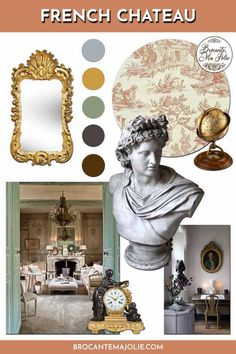 Want to get a French chateau decor? Here's 3 tips to achieve this style in your French country home.