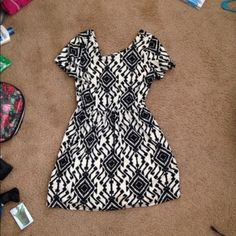 Aztec Printed Dress Cute brand new and you need this in your closet! Make me an offer Dresses