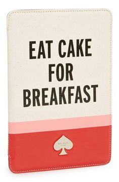 kate spade new york 'eat cake for breakfast' iPad mini case available at #Nordstrom