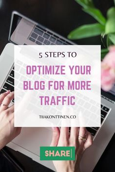 Whether we like to admit it or not, sometimes even the best blog content isn't able to find the right audience. This trend can be caused by a number of factors, but poor website optimization is typically the main culprit. Optimizing your blog can make all the difference. Learn how to to optimize your blog for more traffic.