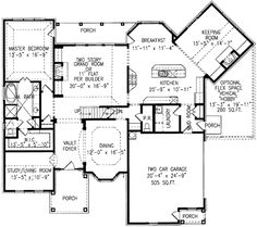 Plan W15783GE: Photo Gallery, Corner Lot, Traditional, Country House Plans & Home Designs