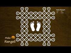 Simple Rangoli Border Designs, Rangoli Designs Flower, Free Hand Rangoli Design, Small Rangoli Design, Rangoli Designs Diwali, Rangoli Designs With Dots, Rangoli Designs Images, Rangoli With Dots, Kolam Rangoli