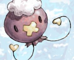 Drifloon fan art. :'3