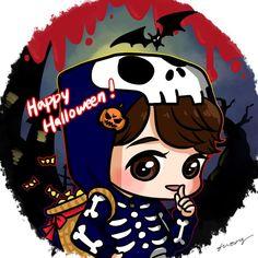 Park Yoochun #Fanart #JYJ #Halloween