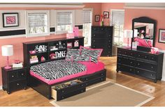 black modern bookcase sideways storage twin bed features storage drawers with pewter knobs