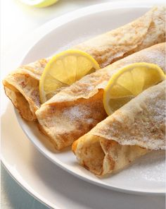 Lemon and Sugar Crêpes. Perfect the art of classic crepe-making with this beautifully simple recipe and how-to video from DK books. A favourite treat for breakfast, lunch or tea, these simple pancakes are a family favourite. http://thehappyfoodie.co.uk/recipes/lemon-and-sugar-crepes