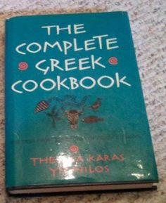 The Complete Greek Cookbook  by Theresa Karas Yianilos is one of those charming little cookbooks you can only find these days in used boo...