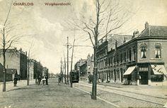 Motorrijtuig 67, lijn 9, Wolphaertsbocht, Charlois, 1910