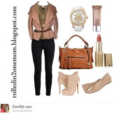 earthly sass. brown. nude. http://rolledin2onemom.blogspot.com
