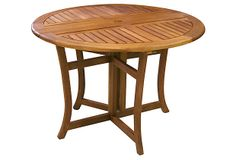 Round Eucalyptus Table on OneKingsLane.com $250 until 5/14/14