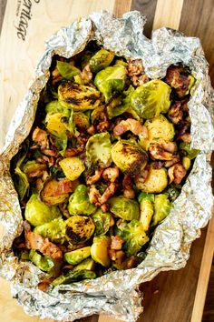How To Grill Brussels Sprouts Sugar Dish Me. Grilled Brussels Sprouts With Bacon Recipe Serious Eats. The Savvy Kitchen: BBQ Bacon Wrapped Brussels Sprouts. Grilled Brussel Sprouts, Cooking Brussel Sprouts, Roasted Sprouts, Sprouts With Bacon, Brussels Sprouts, Summer Grilling Recipes, Healthy Grilling, Grilling Ideas, Healthy Cooking