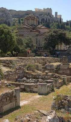 Ancient Agora Athens, Greece