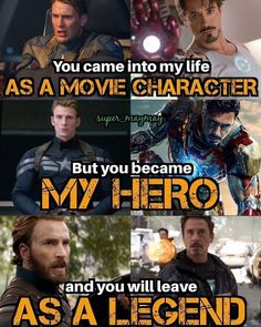 Marvel Universe 798403840169865456 - 😭 legands no matter what! Even years from now you 2 will always be Steve Rogers and Tony Stark! Marvel Quotes, Funny Marvel Memes, Dc Memes, Loki Quotes, Funny Avengers, Marvel Films, Marvel Characters, Marvel Heroes, Marvel Dc