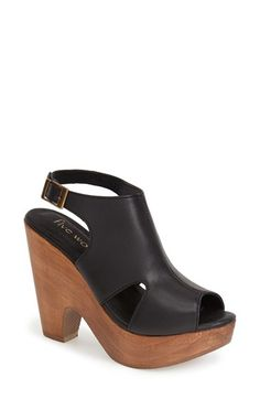 five worlds by Cordani 'Cabo' Slingback Platform Sandal (Women) available at #Nordstrom