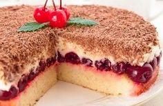 Вишневый пирог «Наслаждение»