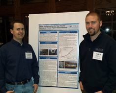 Fisheries Biologists, Aaron Cushing and Jeremy Haley, enjoyed attending the 25th anniversary meeting of the American Fisheries Society's VA Chapter at Virginia Tech in Blacksburg. They attended continuing education seminars and presented a poster on SOLitude's innovative tiger muskie work in central VA.