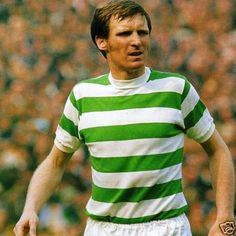 Billy McNeill - Celtic - as a player. Celtic Pride, Celtic Fc, British Football, Sky Tv, Time Of Our Lives, Vintage Football, Football Team, Glasgow, Mens Tops