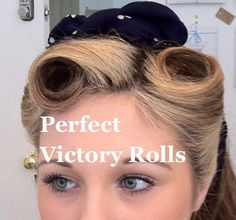 ... - how to create perfect victory rolls at home in less than an hour