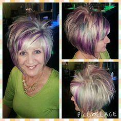 Look at this fun and funky cut and color by @bradeejo #funhair #funkyhair #pravanalockedin #funcolors #hair #amazing #love