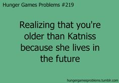 Hunger Games Problems this made me think about it