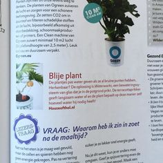 Divine little publication in Dutch glossy Eva.  #Waterworks #lifehack