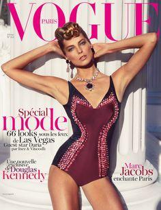 February 2012 Vogue Paris Daria Werbowy - More lusciousness at http://mylusciouslife.com/vogue-magazine-covers-2000-2012/