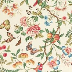 IMPERIAL GARDEN PEARL - fabric for shams and curtains, master bedroom?
