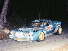 Lancia Stratos Tony Mannini S Remo 76