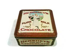 Vintage Collectible Edition #2 Hershey's Pure Milk Chocolate Tin made in USA 1992